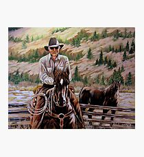 The $12.00 Resistol And Pecos Photographic Print