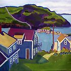 Monhegan Harbor, Maine by brettonarts