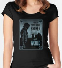 Percy's Request of the Raven Queen  Women's Fitted Scoop T-Shirt