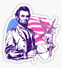 Pegacorn Lincoln Sticker