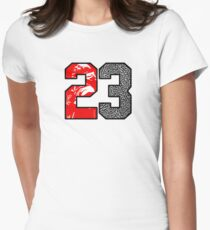 23 Cement Women's Fitted T-Shirt