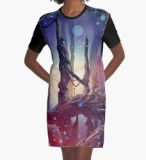 Crystal Caves  Graphic T-Shirt Dress