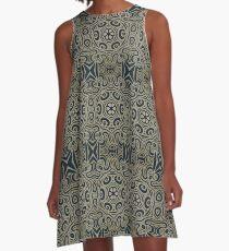 Jugendstil A-Line Dress