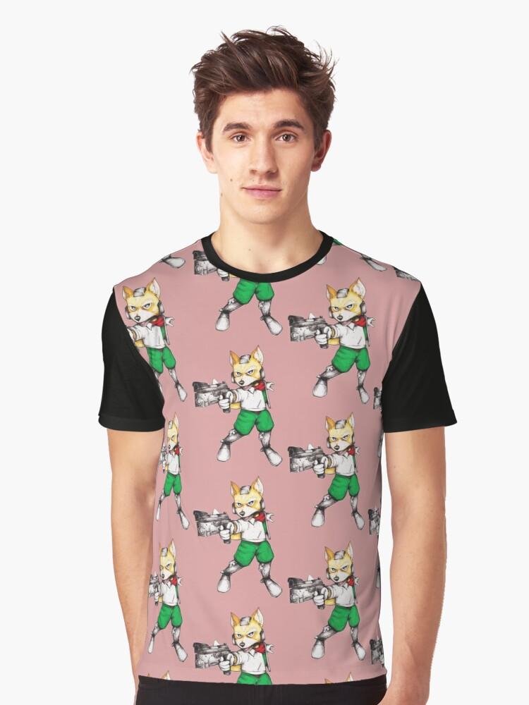 Fox McCloud  Graphic T-Shirt Front