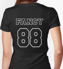Fancy 88 - on dark colors Womens Fitted T-Shirt