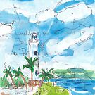 Galle Fort Lighthouse by John Douglas