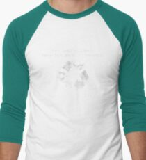 Recycled Thopter Men's Baseball ¾ T-Shirt