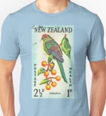 New Zealand Bird Print Unisex T-Shirt