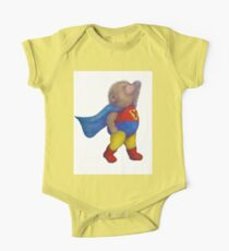 Super Hero Yoga Bear One Piece - Short Sleeve