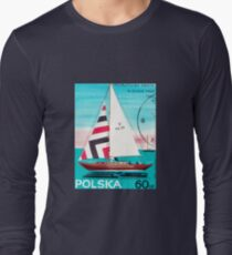 Polska Sailing Print Long Sleeve T-Shirt