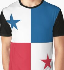 Panama Flag Graphic T-Shirt