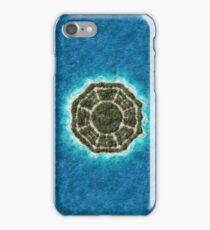 dharma island iPhone Case/Skin