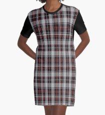 01821 Buildbase Tartan  Graphic T-Shirt Dress