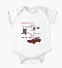 Little Red Wagon One Piece - Short Sleeve