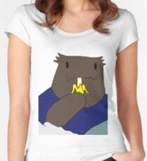 Rak - Tower of God Women's Fitted Scoop T-Shirt