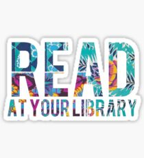 Read at your library Sticker