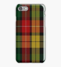 01806 Buchanan #7 Clan/Family Tartan  iPhone Case/Skin