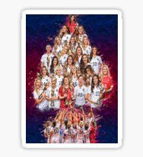 USWNT 1 Jahr WM-Champs! Sticker