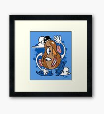 Mr. Picasso Head Framed Print