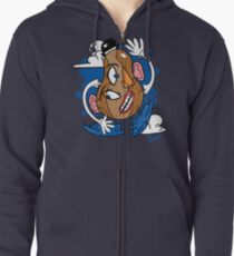 Mr. Picasso Head Zipped Hoodie