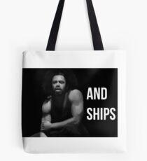 Bolsa de tela Armas y Barcos