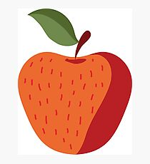 Elegant and Cool Apple Vector Design Photographic Print