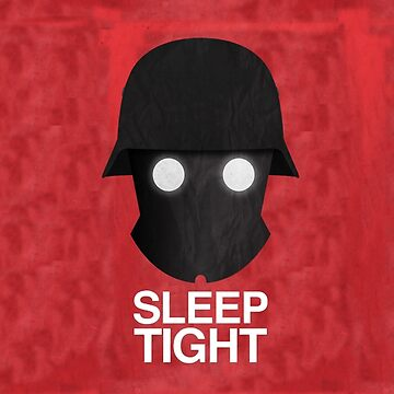 Sleep Tight Soldier Silhouette  by CM7Designs