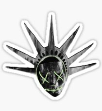 THE PURGE: liberty MASK BW Sticker