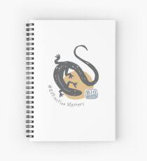 BioBlitz Skink Spiral Notebook