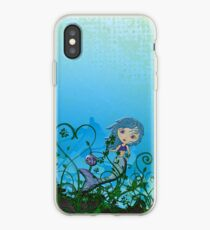 Taking My Goldfish For A Swim iPhone Case