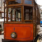 The old Soller tram, Mallorca. by naranzaria