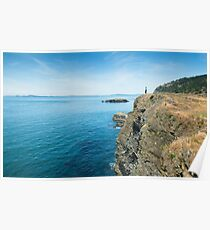 Only the Beginning - Deception Pass State Park, Washington Poster