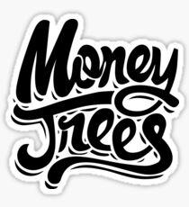 Pegatina Árboles de dinero - Negro