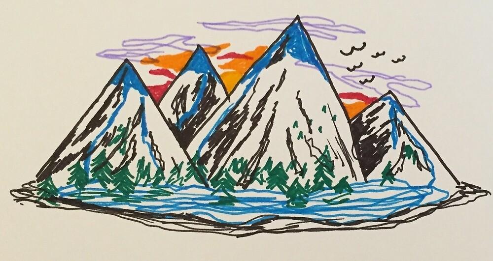 Mountain View by saucymarinara