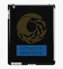 Captain! There be whales here! iPad Case/Skin