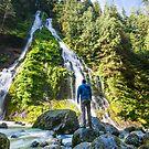 In Awe - Boulder River Wilderness, Washington by Jason Heritage