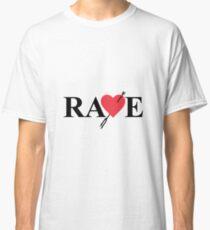 Catherine - Vincent Brooks RAVE Logo Classic T-Shirt