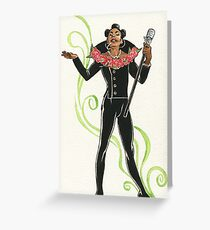 Ruby Rhod Pin-Up Greeting Card