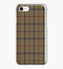 01776 Brooks Brothers Tattersall Camel Fashion Tartan  iPhone Case/Skin