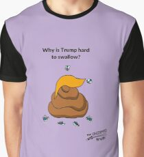 Why Is Trump So Hard To Swallow? Graphic T-Shirt
