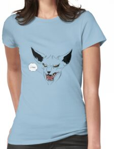 lying cat SAGA comic book  Womens Fitted T-Shirt