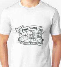 H3H3 Papa Bless Pizza Unisex T-Shirt