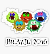 #Brazil #Olympics2016 #Rio Sticker