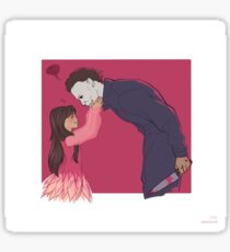 Myers and Jamie Sticker