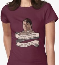 """Peep Show """"Mark Corrigan"""" Womens Fitted T-Shirt"""