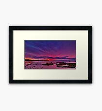 """Torquay Morning Twilight"" Framed Print"