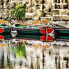 Knaresborough boats by John Dunbar
