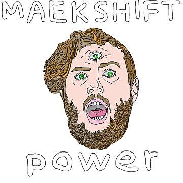 Maekshift - Doodle Tee by Samnachison
