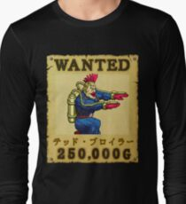 Ted Broiler Wanted Poster Long Sleeve T-Shirt