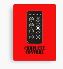 Complete Control Canvas Print